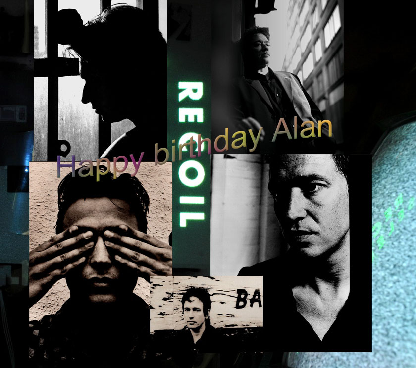 Joyeux Anniversaire - Happy birthday Alan Wilder - 1er Juin 2014 / June 1st 2014